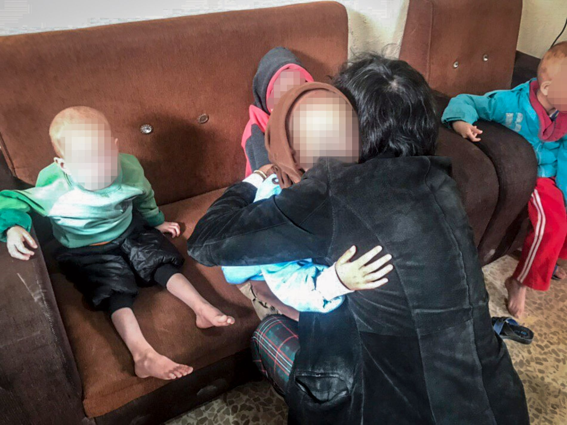 TIL IRAK: Patricio Galvez skal få med seg barnebarna fra en flyktningeleir i Syria til det svenske konsulatet i Nord-Irak. Ifølge morfaren fremstår barna til Skråmo som underernærte og traumatiserte etter opplevelsene i Den islamske staten. Foto: PRIVAT