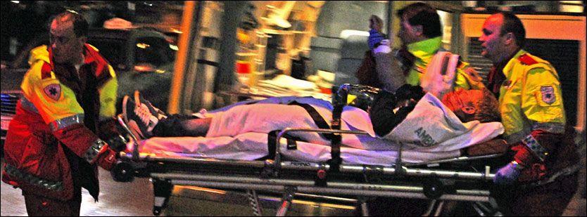 KNIVSTUKKET: Den 36 år gamle somalieren gikk anmok med kniv og angrep alle rundt seg i området ved Brugata i Oslo ifjor høst. Nå er det klart at han er for syk til å fengsles. Foto: Amund Bakke Foss