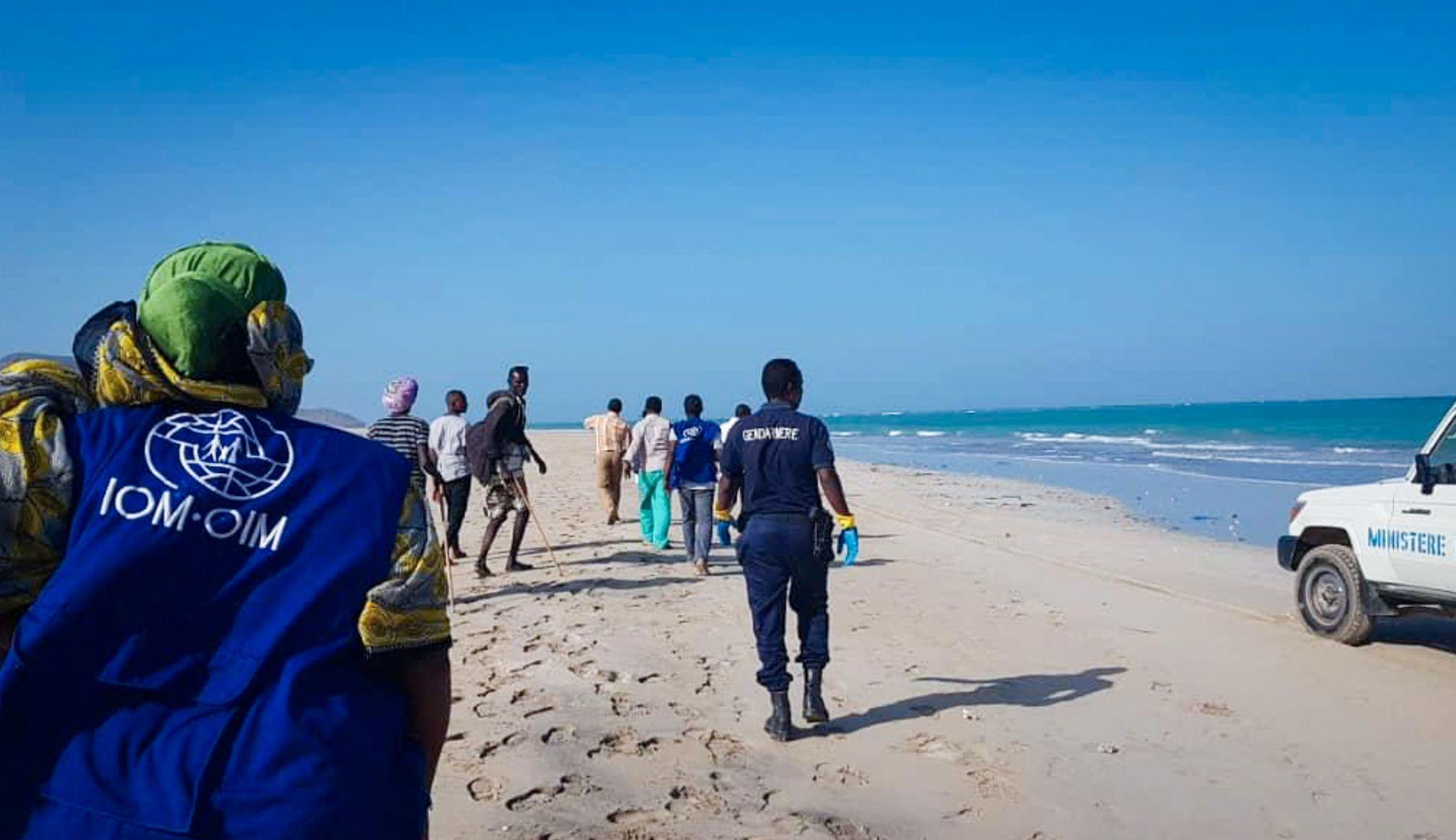 HUMANITÆR KRISE: 52 personer er funnet døde etter to båtforlis utenfor kysten av Djibouti.