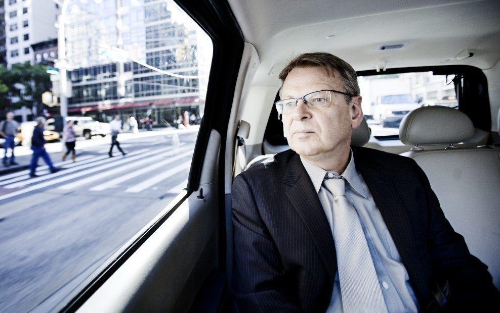 FÅR KRITIKK: Morten Wetland i First House får kritikk i Aftenposten, men nekter for å løpe Kinas ærend i kritikken mot Thorbjørn Jagland. Her fra hans tid i New York som FN-ambassadør. Foto: PONTUS HÖÖK / VG