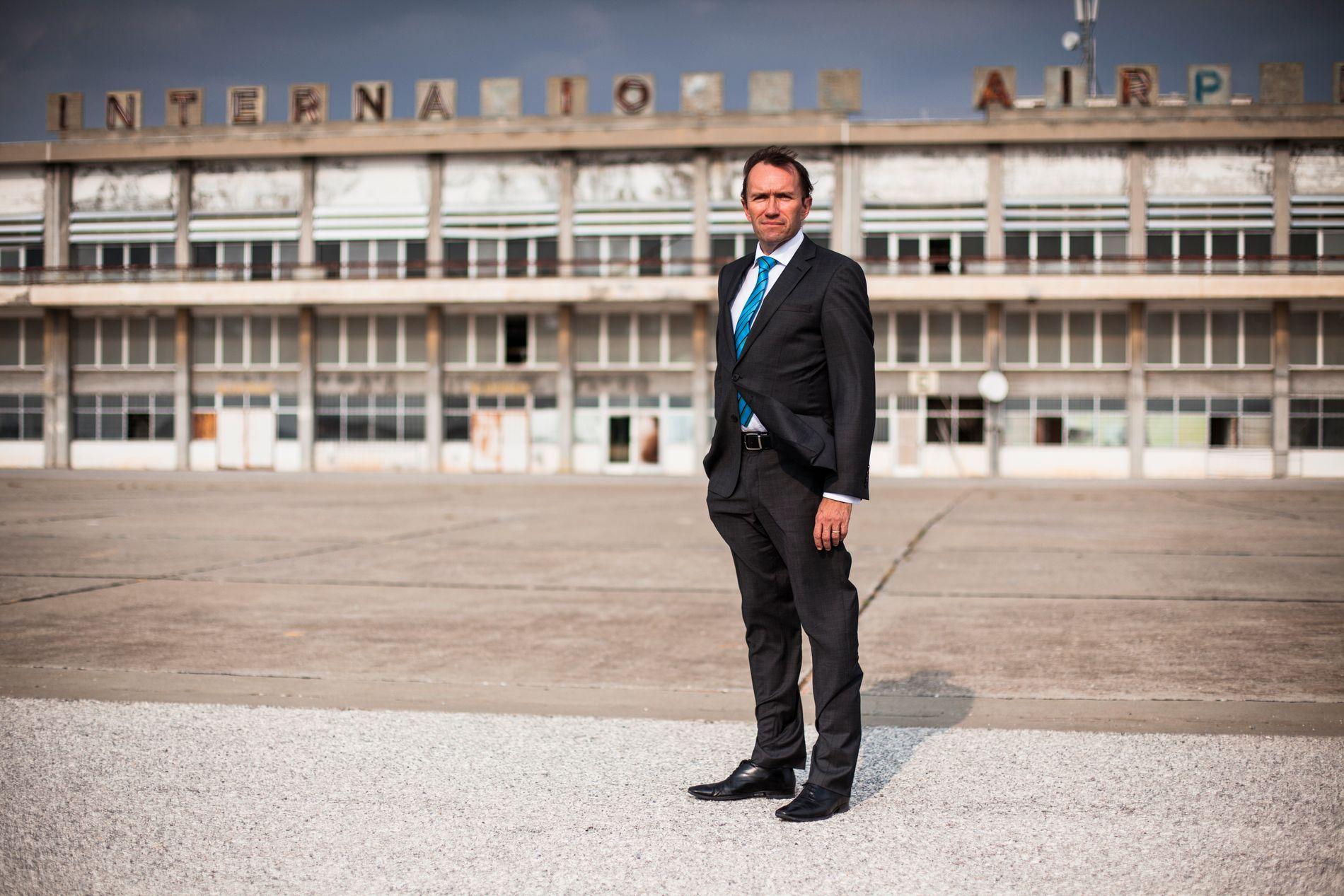 KRITISK: Espen Barth Eide fotografert under jobb som FNs spesialutsending til Kypros.