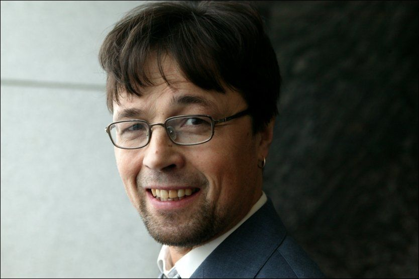 TV- OG TEATERSKUESPILLER: Sverre Solberg er utdannet ved Teaterhøyskolen i Oslo. I 2009 hadde han en rolle i «Hotel Cæsar». Foto: NTB Scanpix