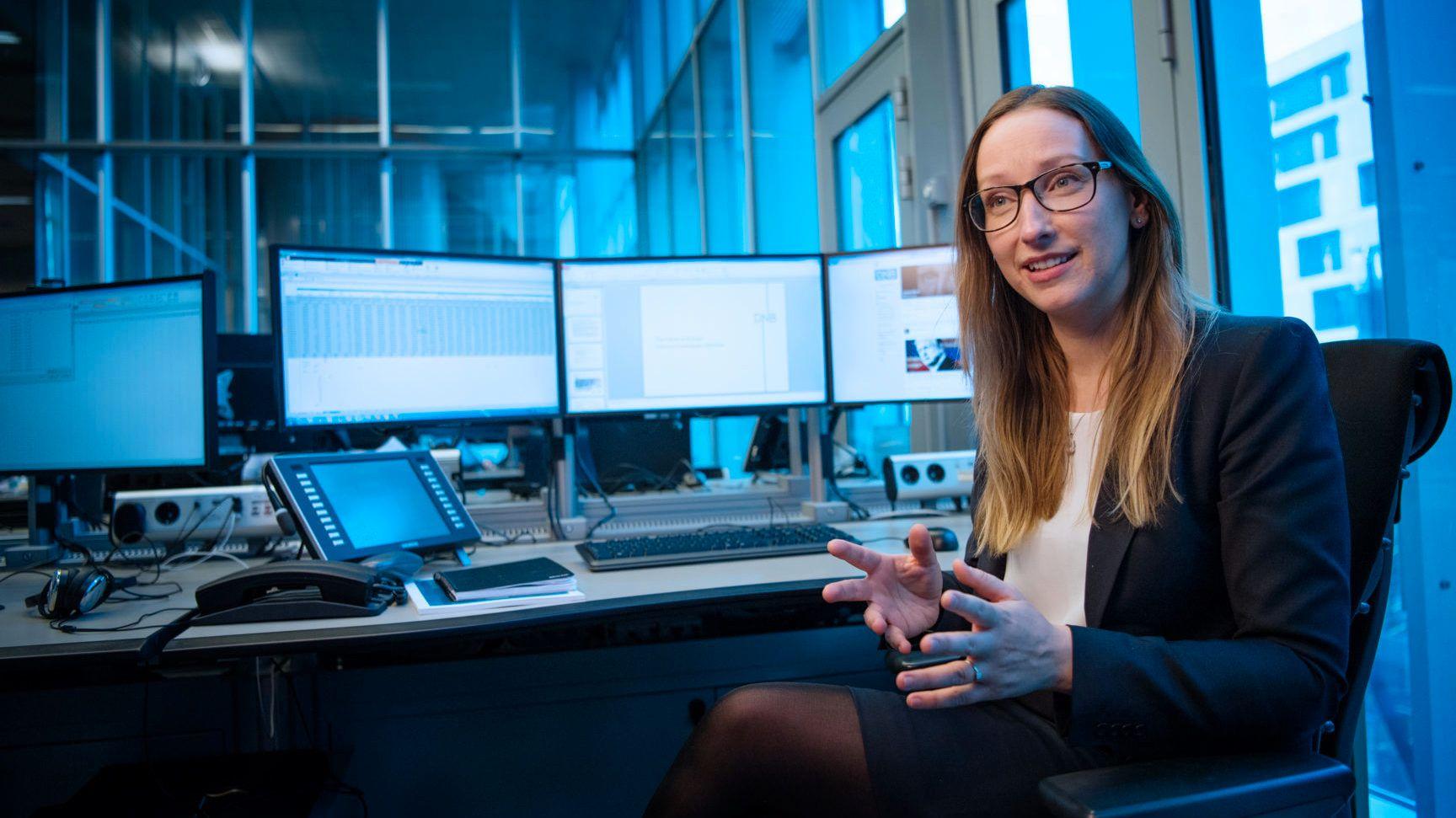 BUDSJETT-KRITIKK: Sjeføkonom Kjersti Haugland i DNB og DNB Markets mener Regjeringen kunne gjort mer enn å gå for et nøytralt budsjett.