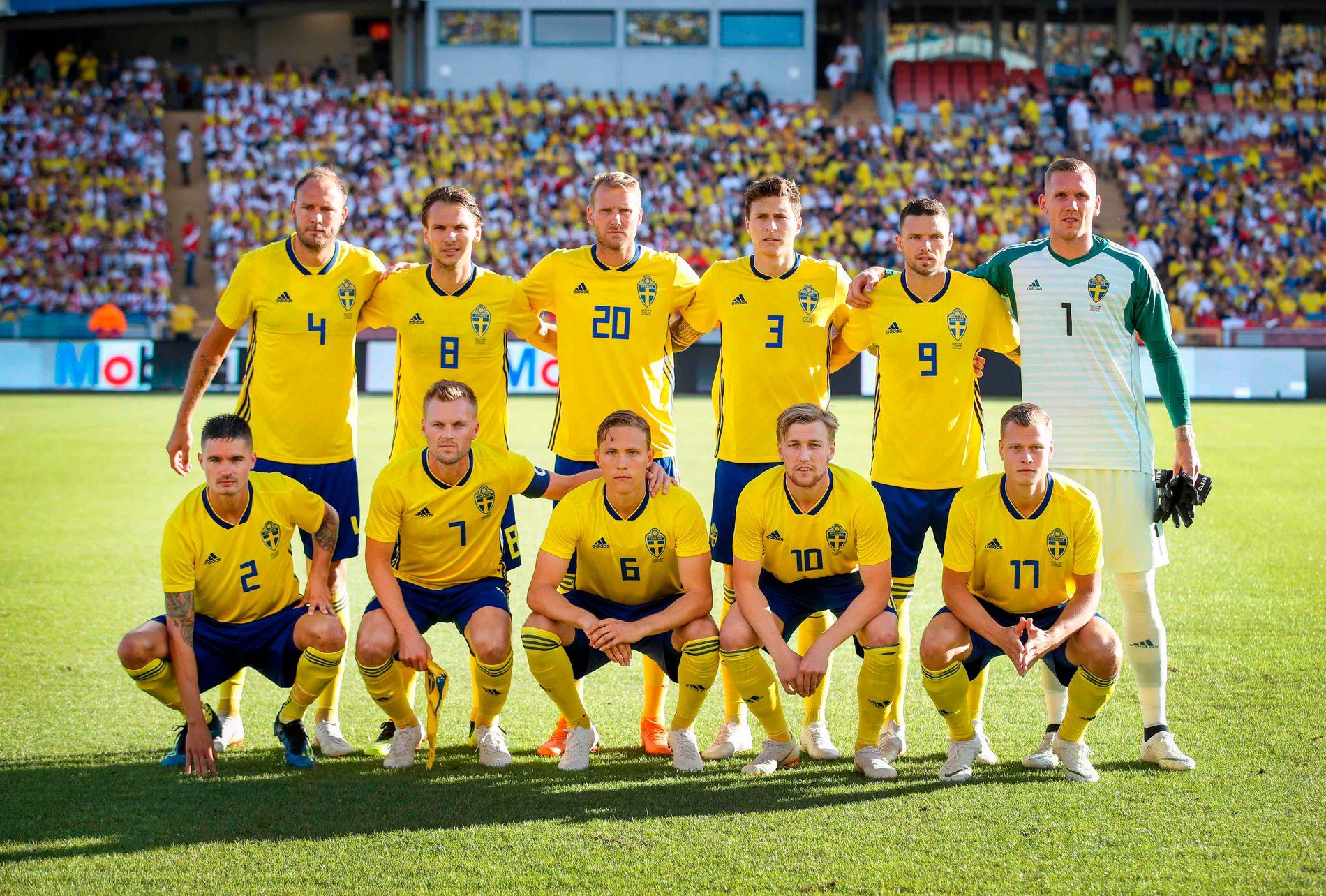 TRØBBEL? Flere spillere i den svenske landslagstroppen venter barn under – eller like etter – fotball-VM i Russland.