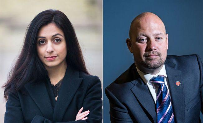 IKKE IMPONERT: Nesteleder i arbeiderpartiet, Hadia Tajik, mener at justisminister Anders Anundsen har brukt lang tid på å komme til det hun mener er dårlige løsninger i kriminalomsorgen.