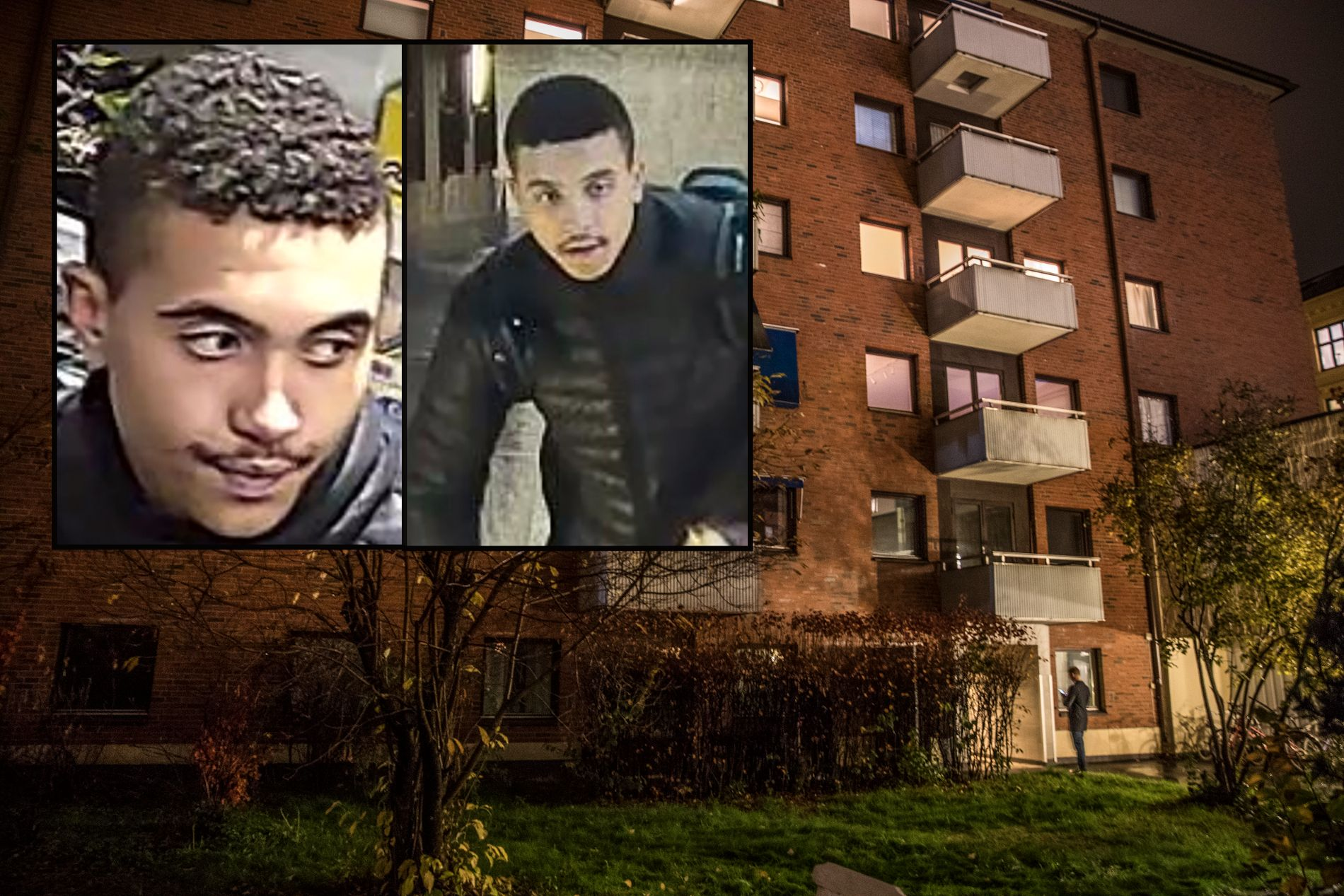 INTERNASJONALT ETTERLYST: 20 år gamle Makaveli Lindén fra Uppsala siktet for drapet på Heikki Paltto og etterlyst gjennom Interpol.