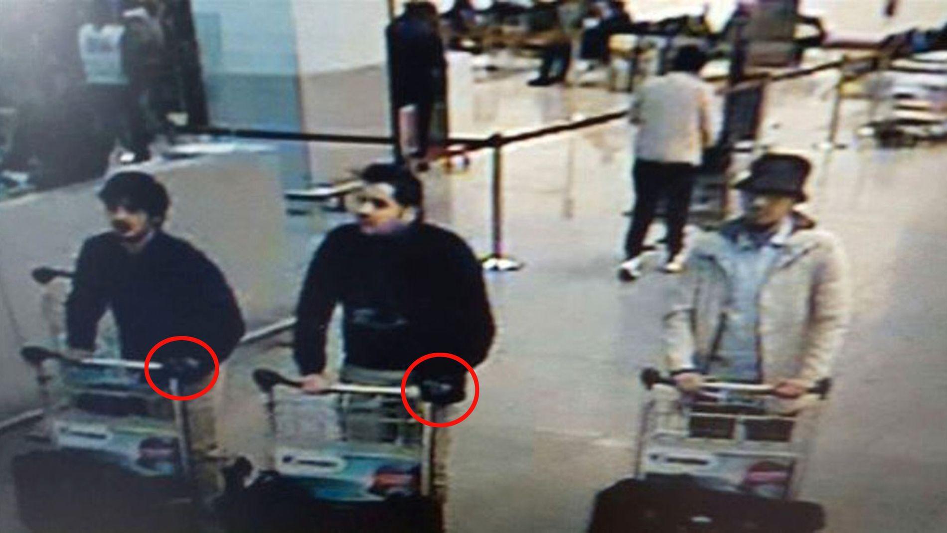 MISTENKT: Ibrahim El Kabraoui er mannen i midten på bildet.