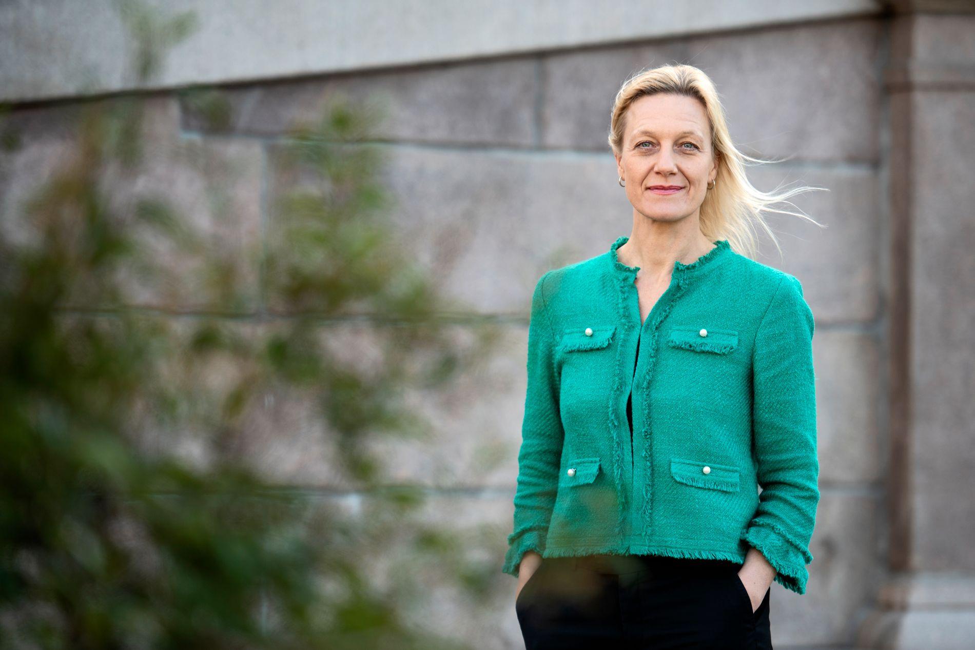 FRYKTER: Kjersti Oppen, som er direktør i bransjeorganisasjonen Virke Trening, mener at skatteendringer kan føre