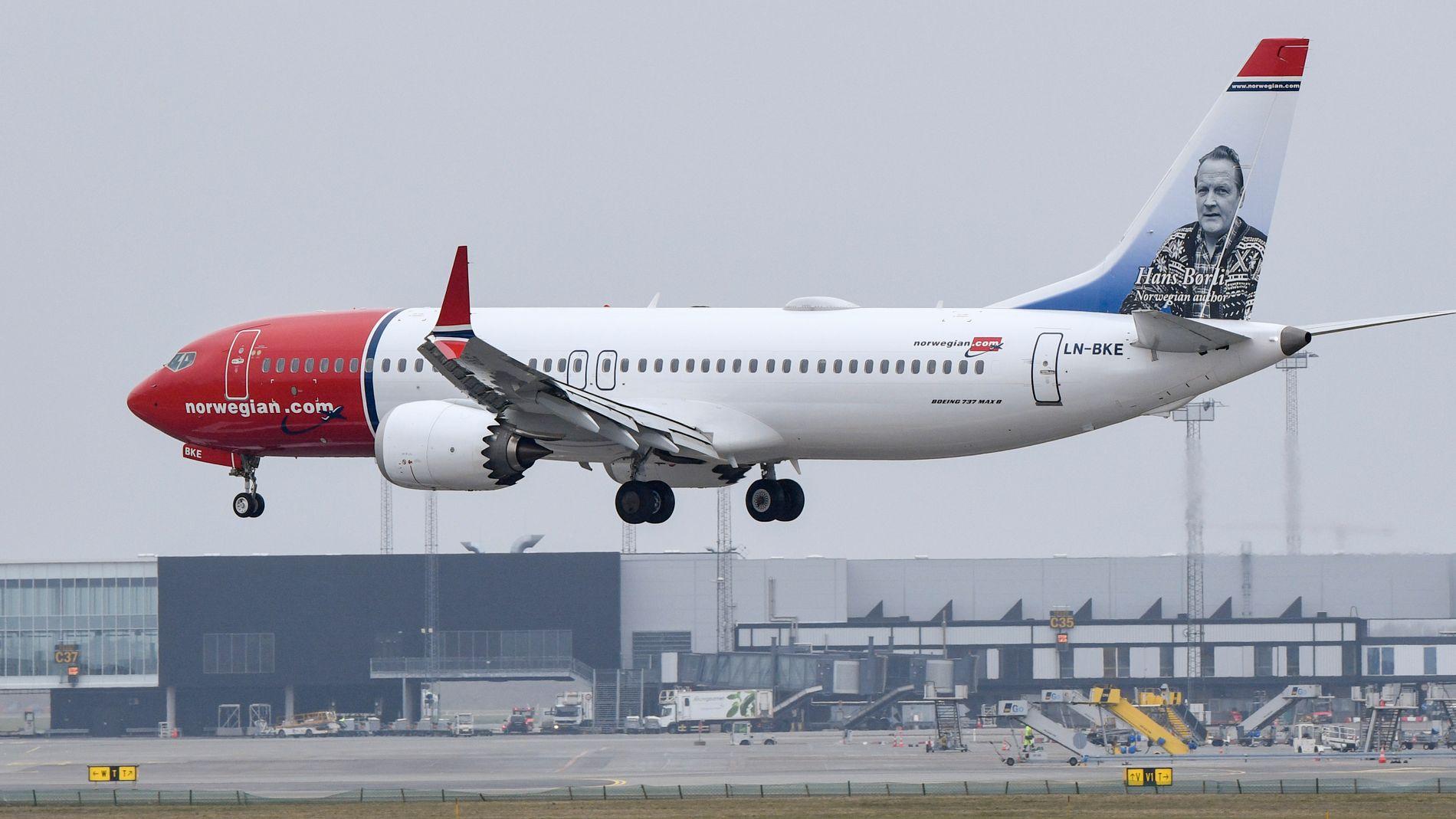 IKKE PARKERT: Mens en rekke av konkurrentens fly må kanselleres, gjør Norwegian sitt for å øke trafikken.