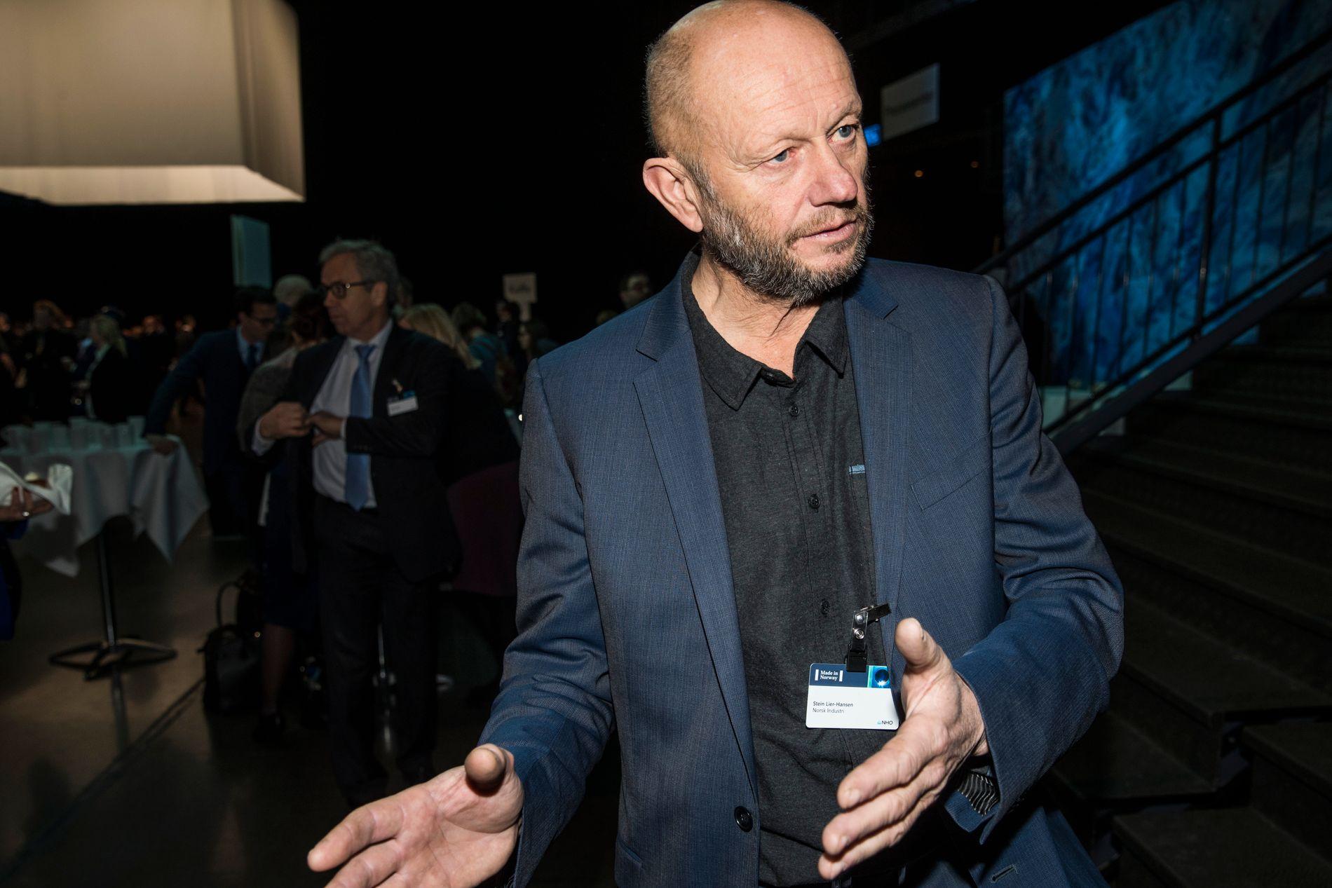 ADVARER: Administrerende direktør Stein Lier-Hansen i Norsk Industri slår alarm om endringer som gjør at norske industribedrifter kan miste støtte til tiltak som kutter CO2-utslippene.