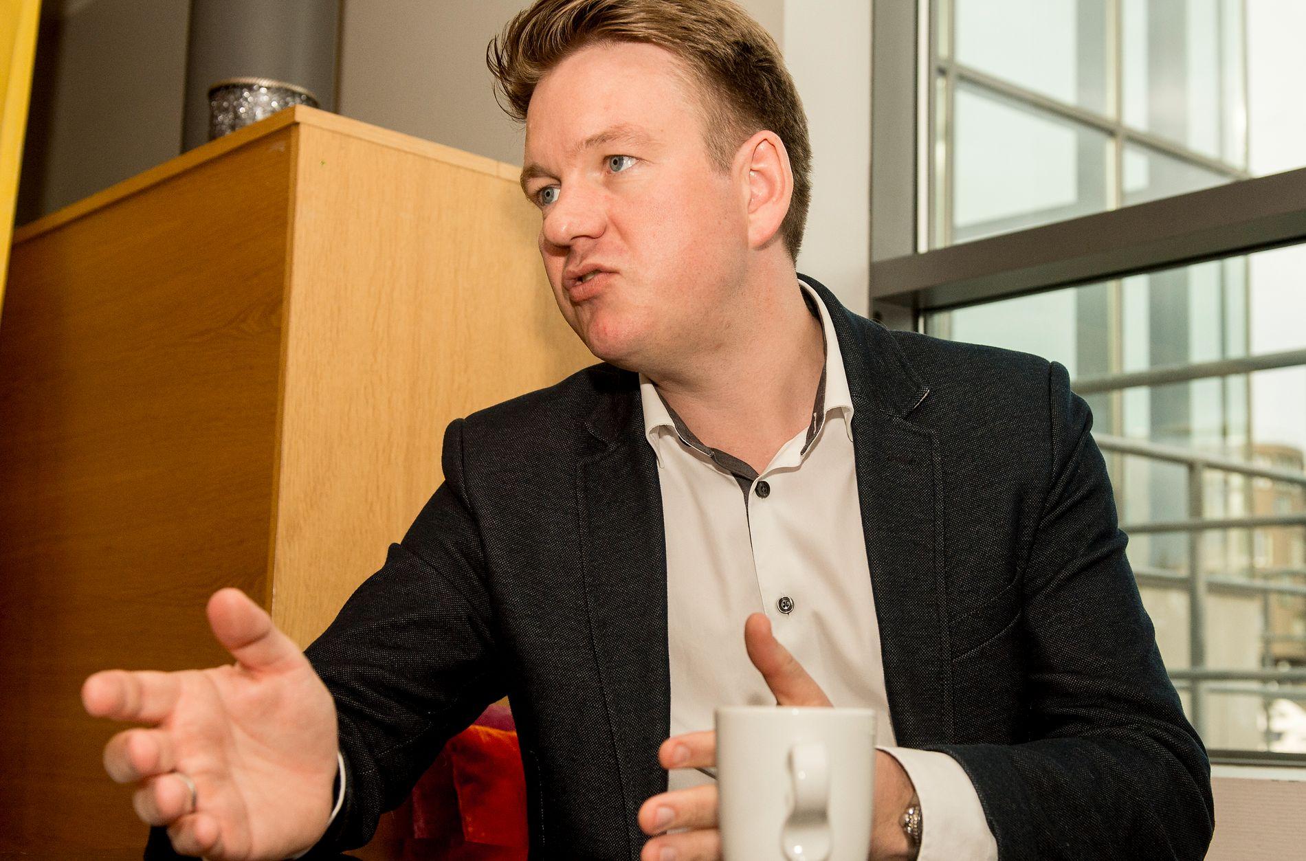 STØTTER MOBBEOFRE: Stortingsrepresentant Anders Tyvand (KrF) er medlem i Stortingets utdanningskomité.