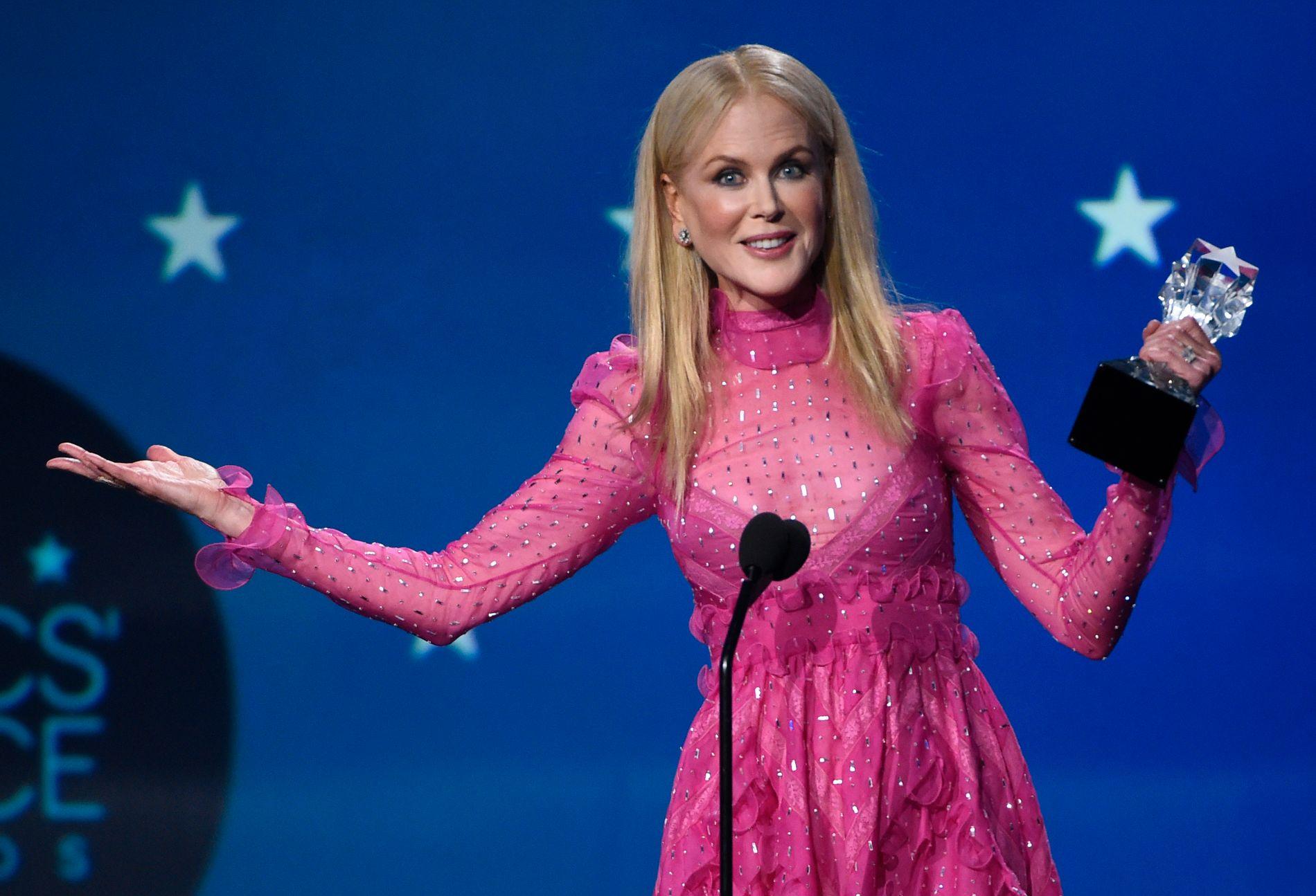 VANT: Nicole Kidman var en av flere kolleger som vant pris for «Big Little Lies».