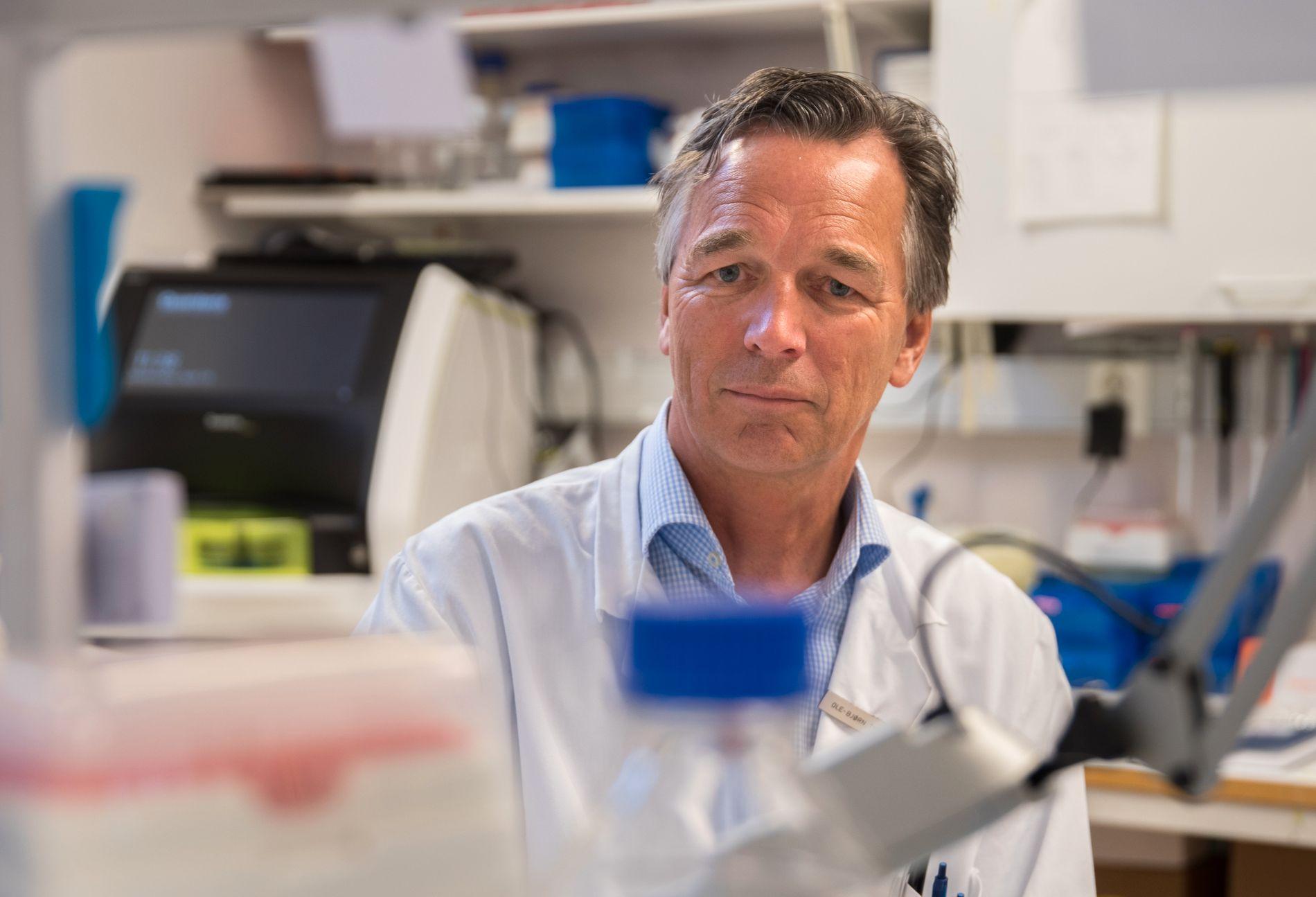 VIKTIG: Ole-Bjørn Tysnes ved Haukeland universitetssjukehus vil ha nasjonalt register.