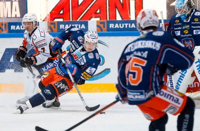SUKSESS: Alexander Bonsaksen gjør sine saker meget godt i den finske SM-liiga-klubben Tappara.