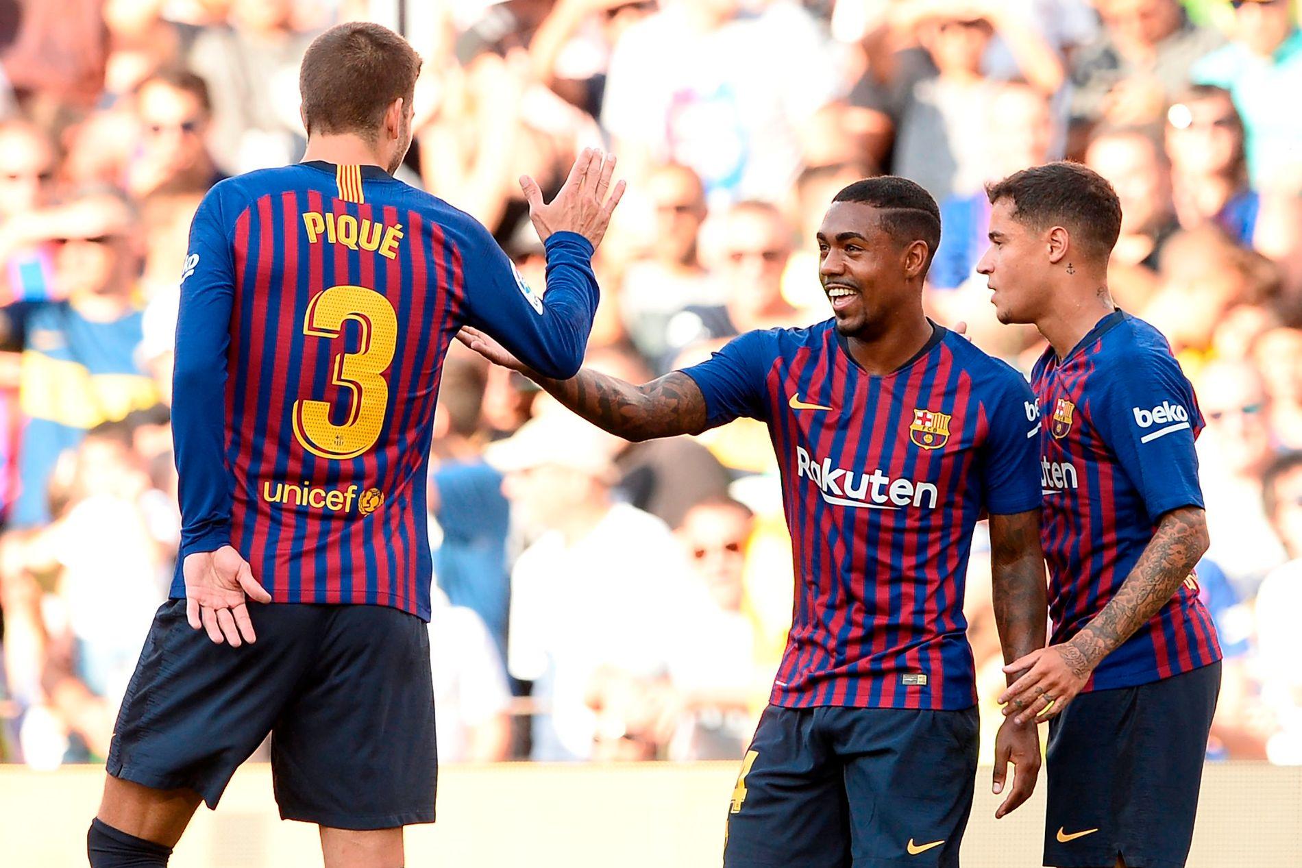 SCORET: Malcom har scoret for Barcelona denne sesongen - men det var i en treningskamp mot Boca Juniors.