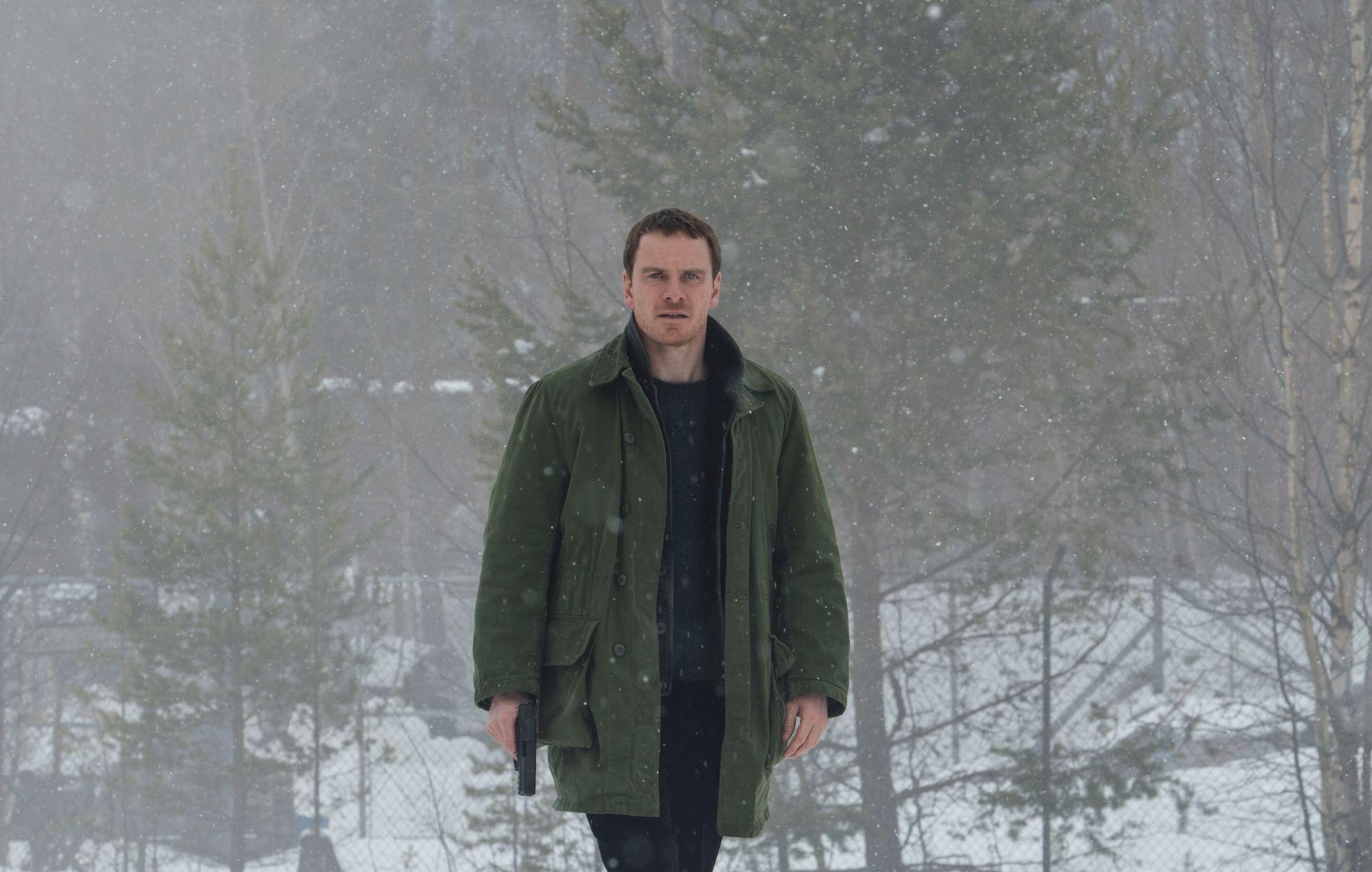 HARRY HOLE: Superstjerne Michael Fassbender er mannen som gir ansikt til detektiven på filmlerretet.