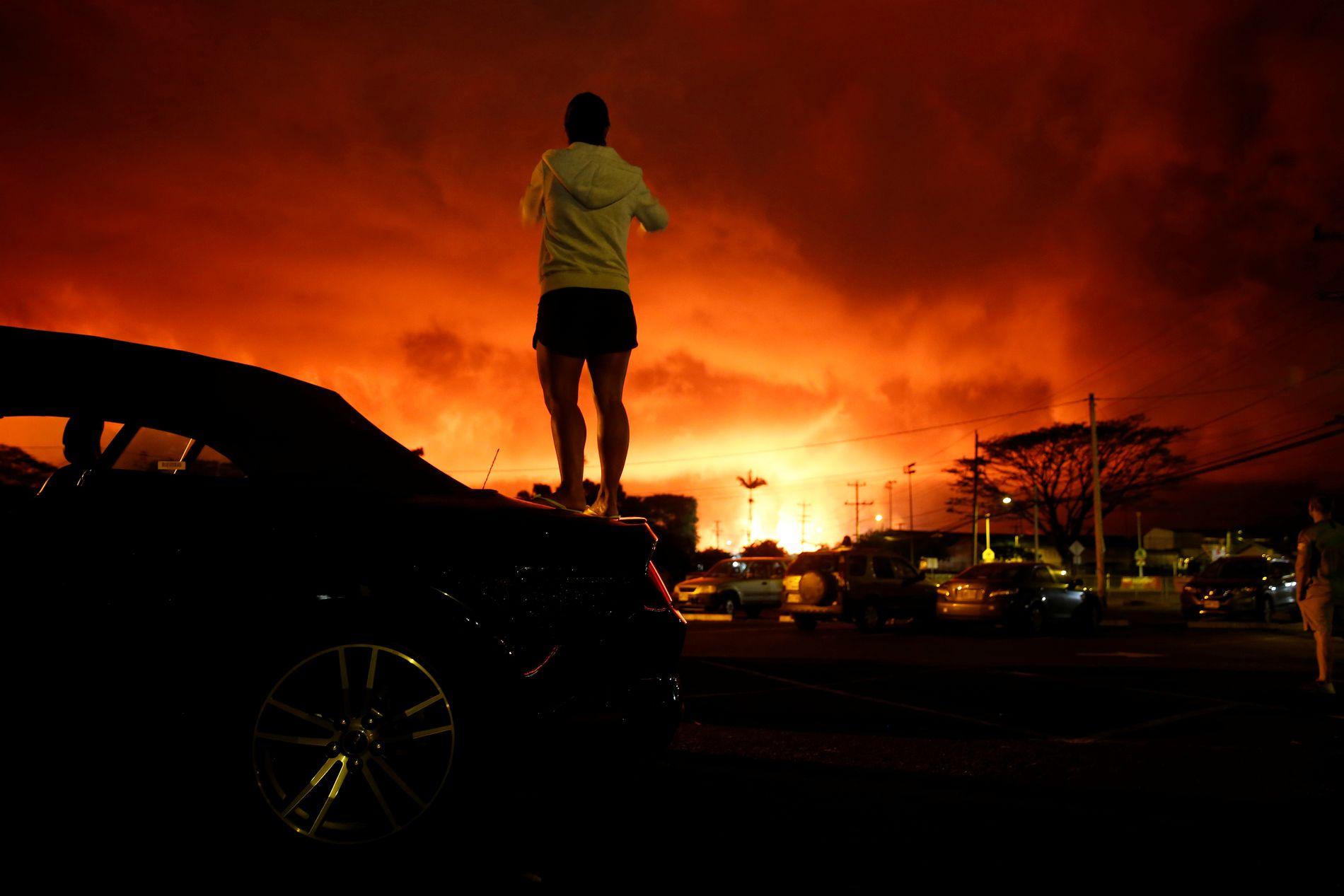 Populære Lavastrøm isolerer folk på Hawaii - uten strøm, vann og telefon II-32