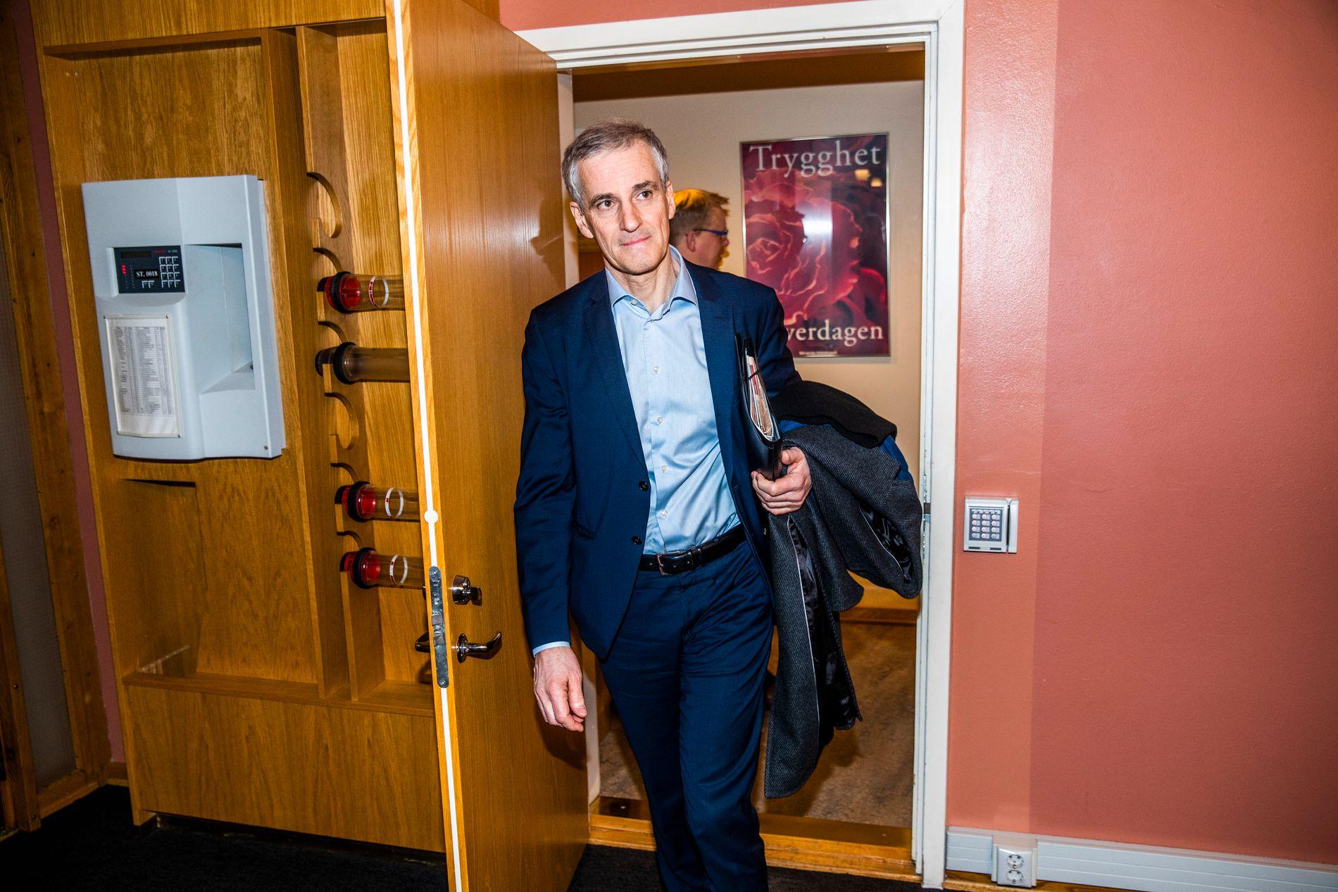 REISE: Ap-leder Jonas Gahr Støre skal til Vestlandet i helgen.