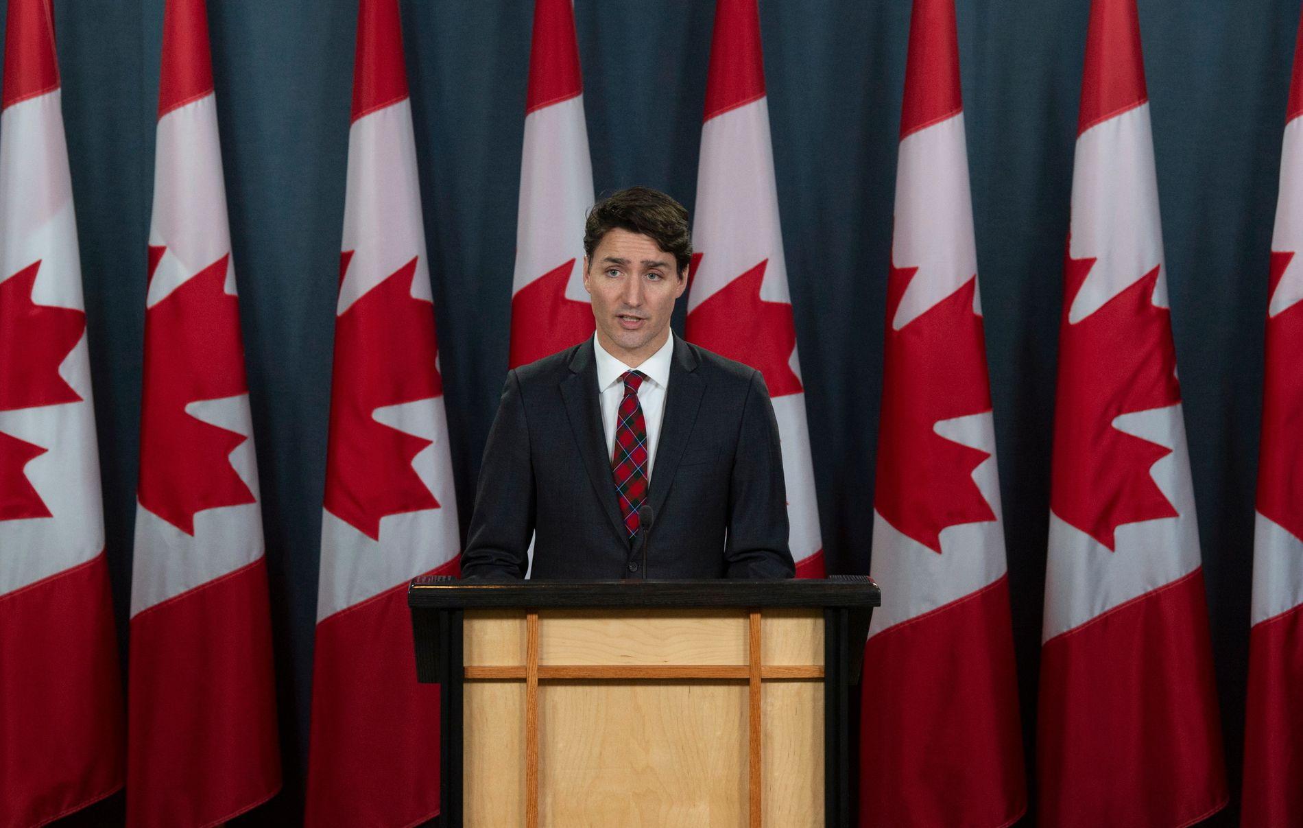 Canada, her ved statsminister Justin Trudeau, planlegger å ta imot over 1 million flyktninger de neste tre årene. Foto: AP / NTB scanpix.