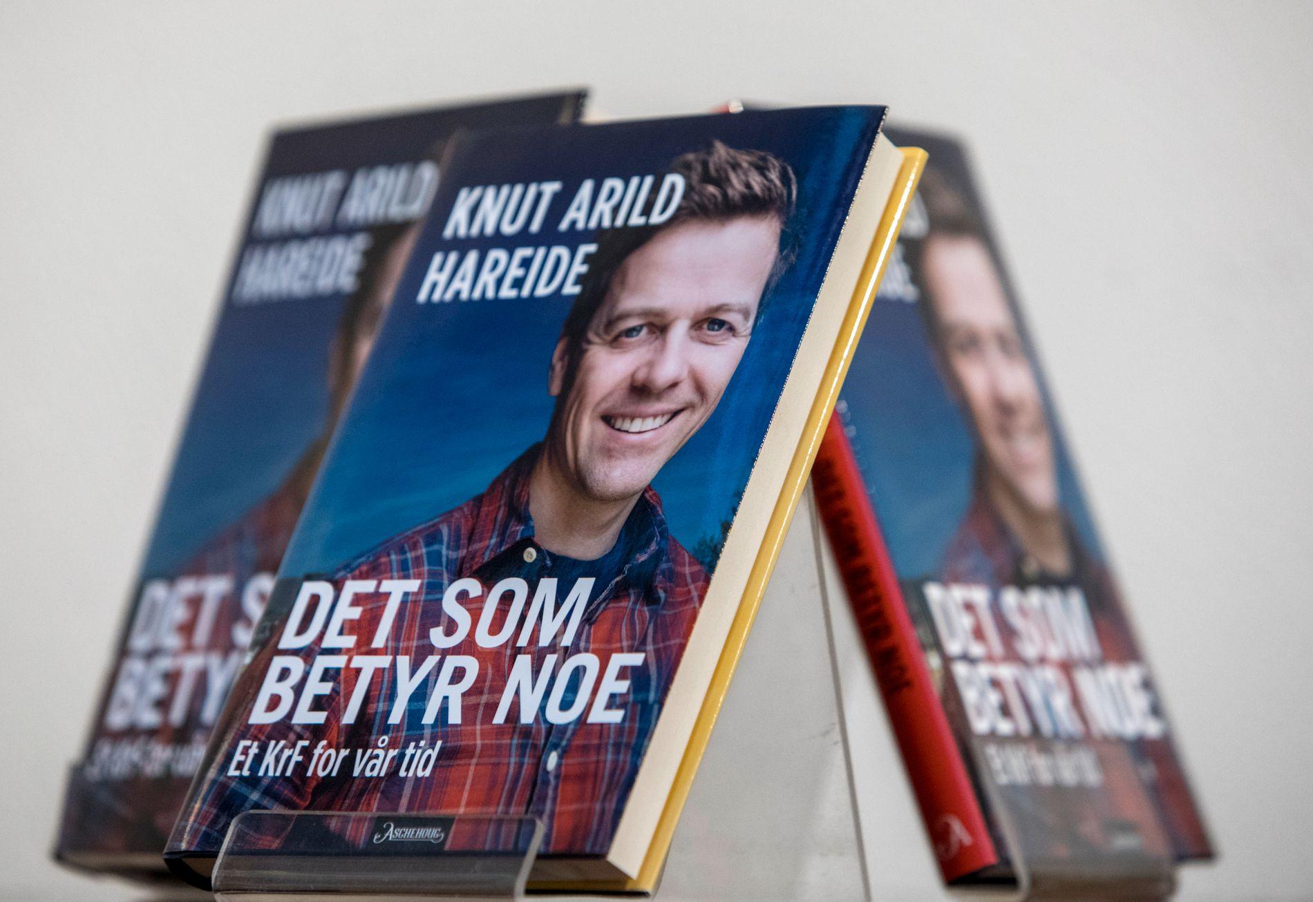 AP-ROS: Nestleder Kjell Ingolf Ropstad fikk lese boken full av Ap-ros lenge før sine partikolleger.