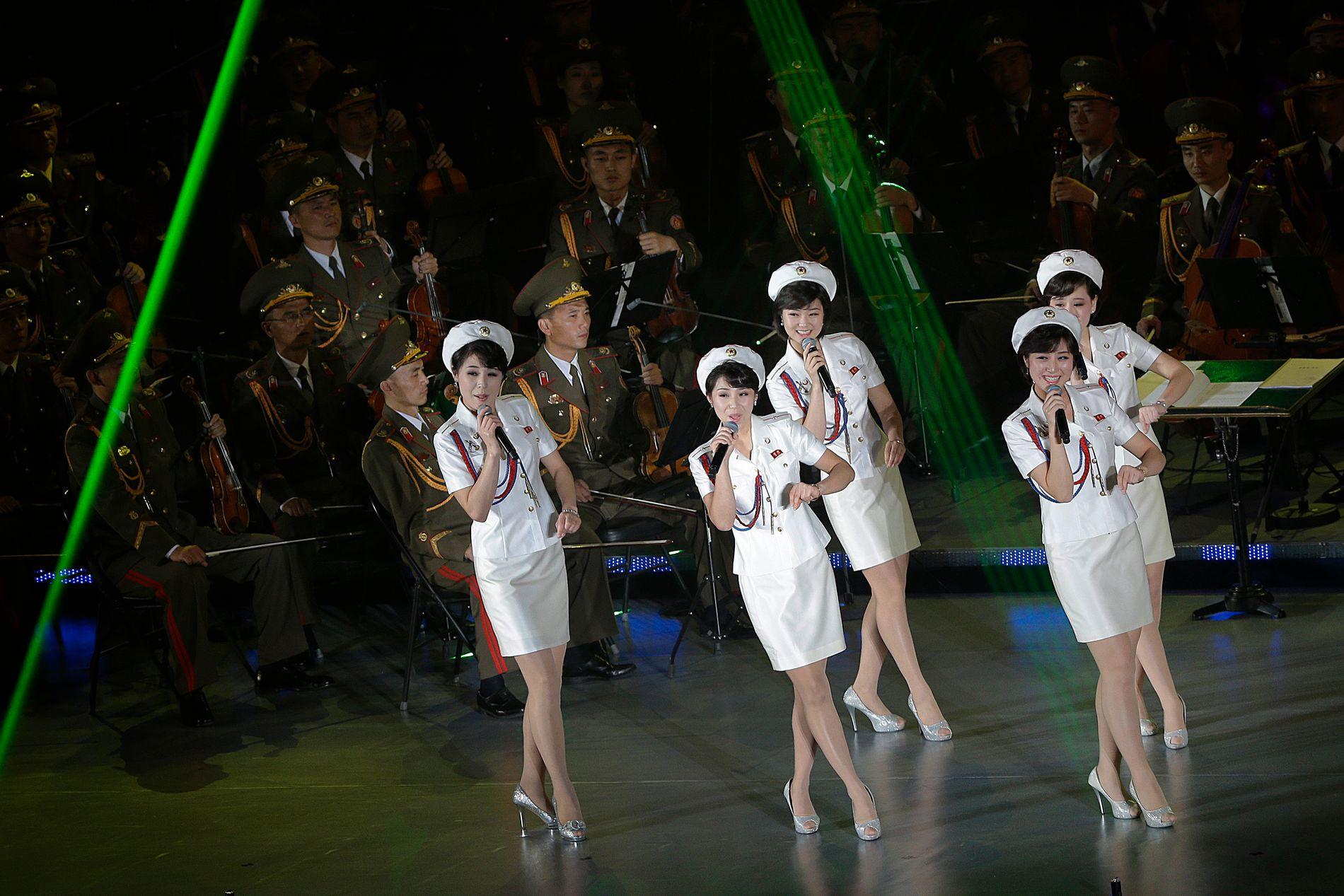 SPICY: De er blitt sammenlignet med Spice Girls. Nå kan det hende du får se de opptre under vinter-OL i Sør-Korea i februar.