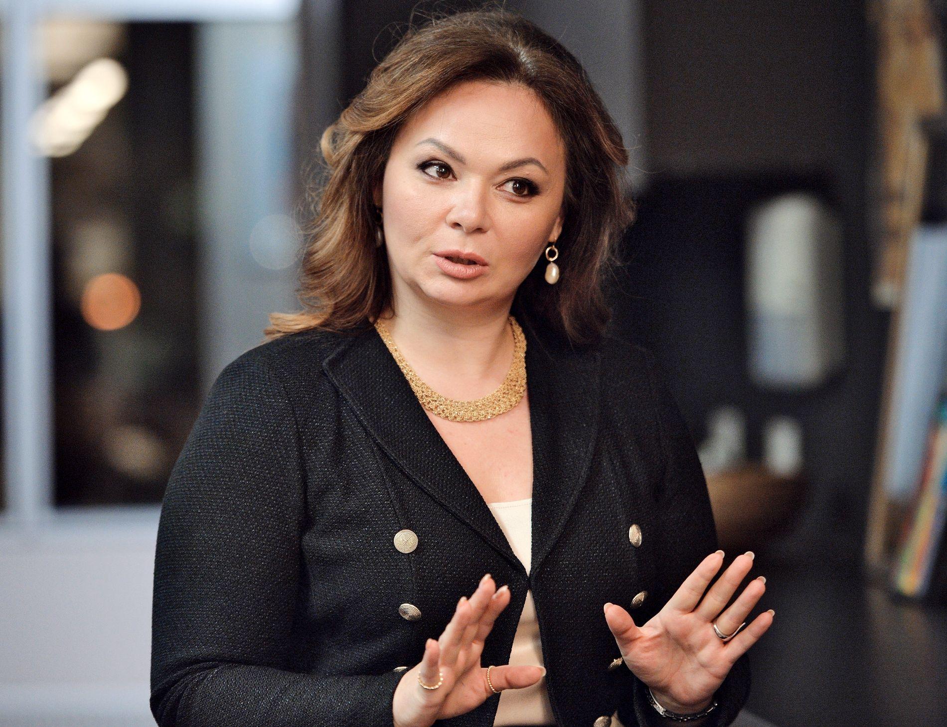 MIDT I STORMEN: Nylig avslørte e-poster viser at den russiske advokaten Natalja Veselnitskaja (42) deltok i et ca. 30-minutter langt møte med Donald Trump Jr. og andre i Trump Tower i fjor. Nå lurer alle på hvem hun er.