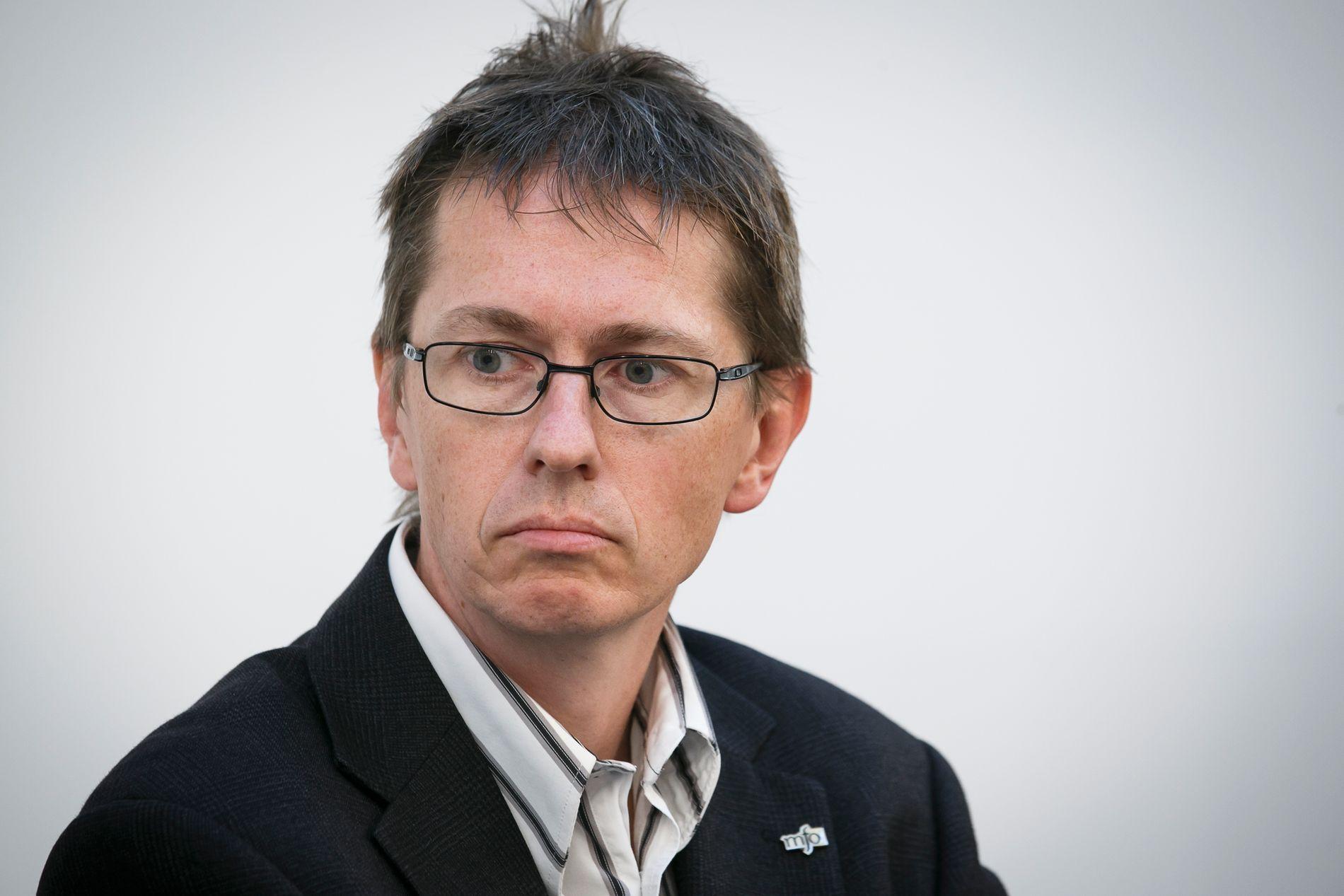 REFSER NRK: Hans Ole Rian i Creo, fagforbund for kunst og kultur.