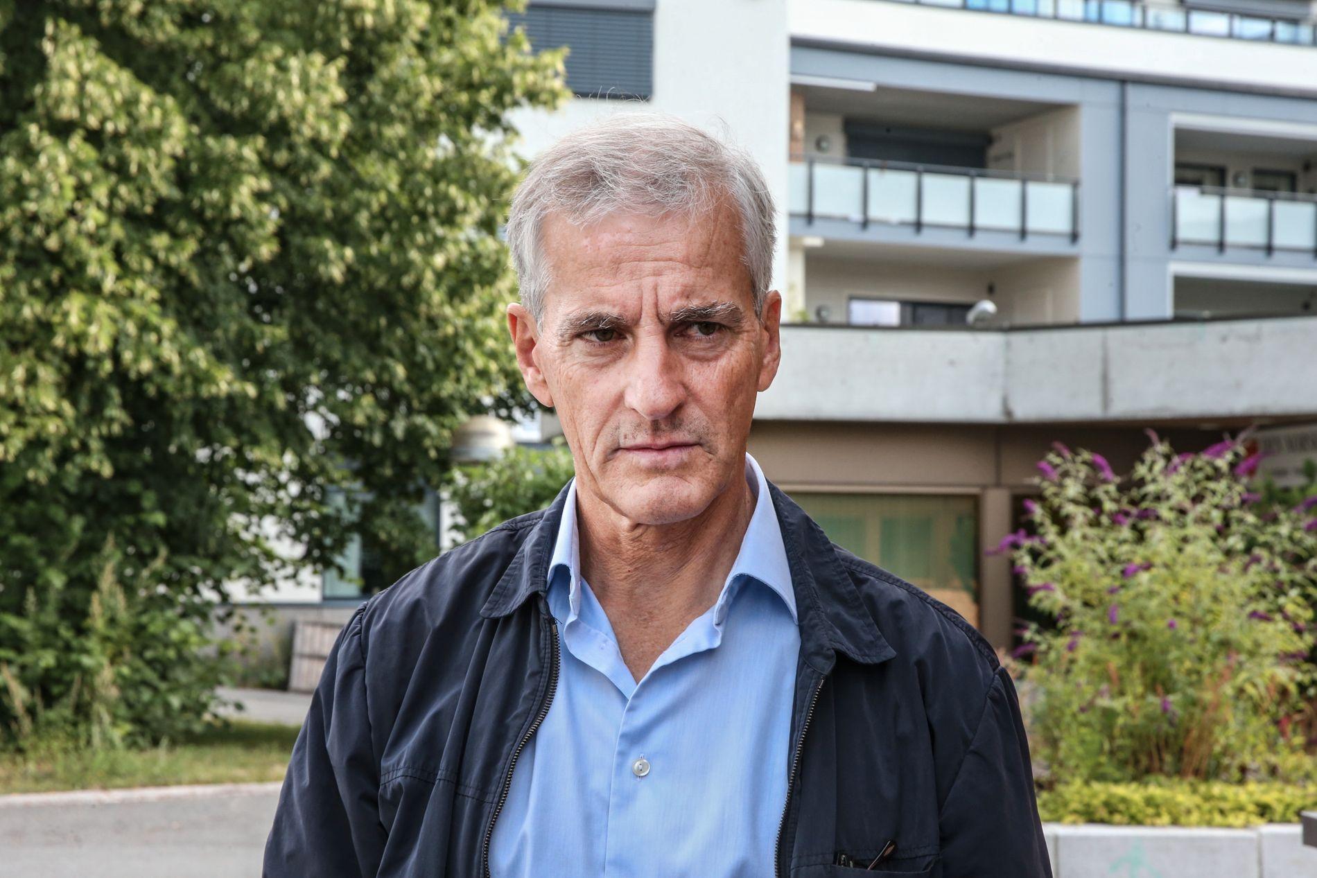 SNUDDE: Ap-leder Jonas Gahr Støre hevder det er Regjeringens dårlige oppfølging av politireformen som har gjort det nødvendig for Ap å trekke støtten.