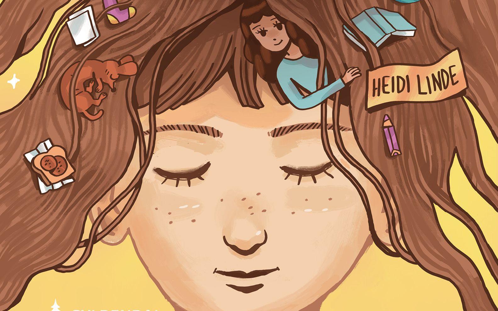 TETT PÅ: VGs anmelder mener Heidi Lindes barneroman «Olivias liv. Annenhver uke» bør få mange lesere.