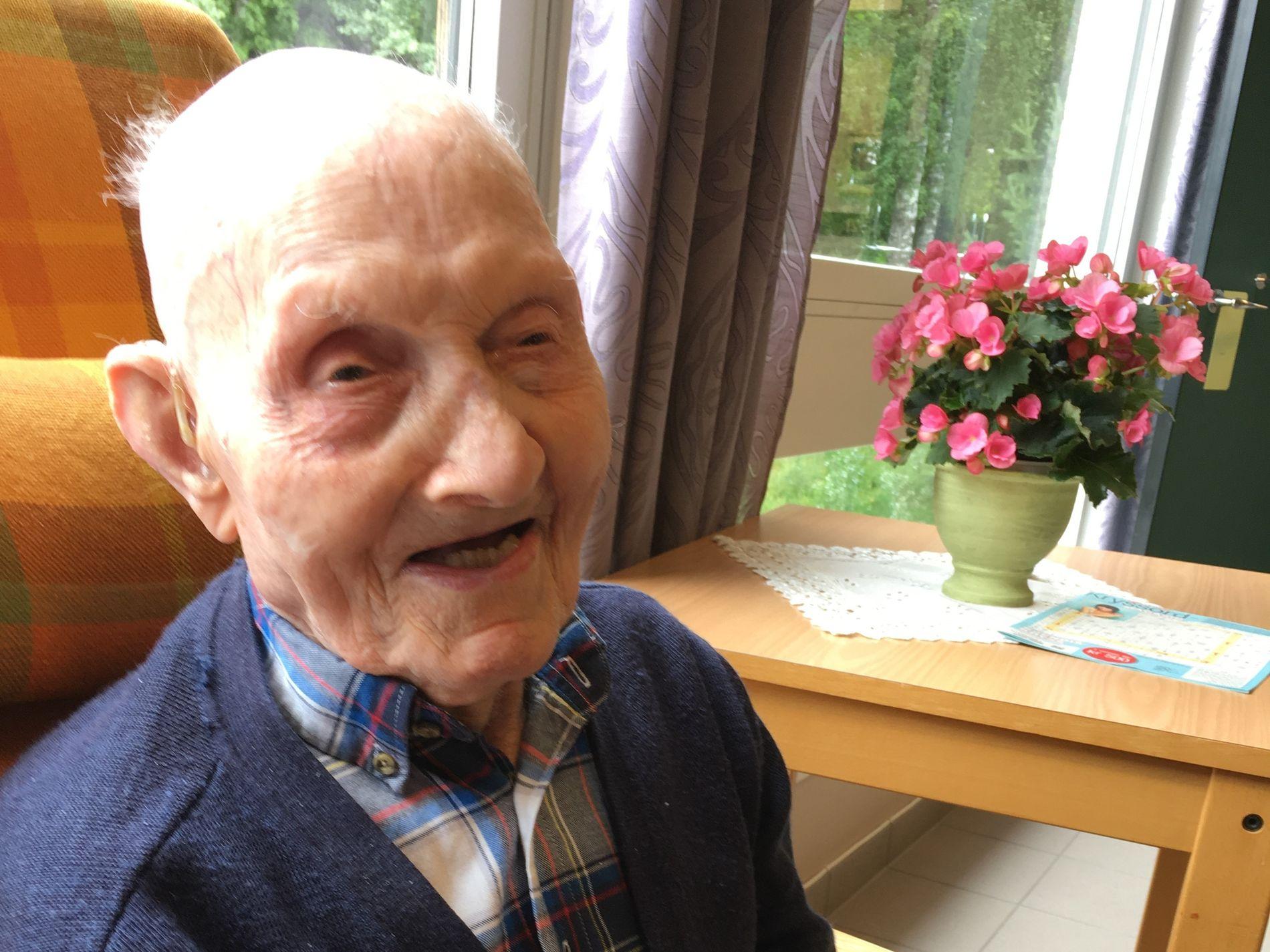 108: Torbjørn Øverbø er Norges eneste person over 107 år fra 22. august.