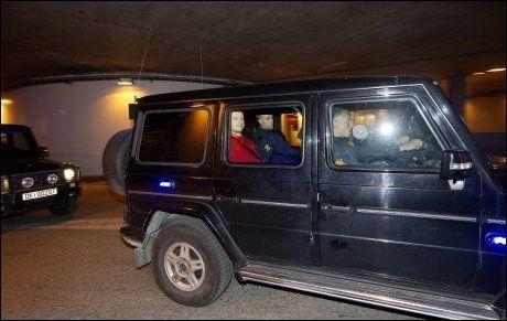 I RETTEN: Massedrapsmann Anders Behring Breivik skal møte i retten og ikke forklare seg via videolink slik politiet ville. Foto: Göran Bohlin