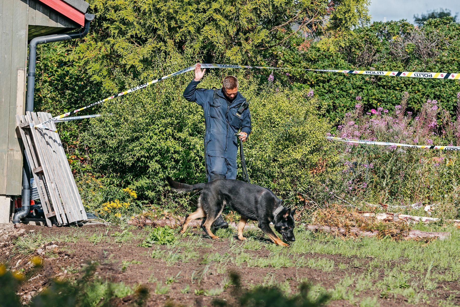 FUNNSTED: Den avdøde 13-åringen ble funnet like i utkanten av et boligfelt på Varhaug på Jæren.
