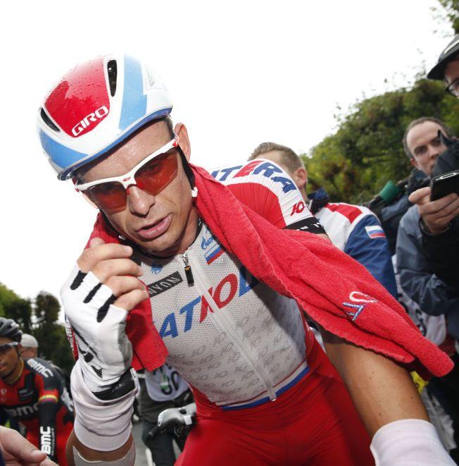 TOUR DE FRANCE-HELT: Alexander Kristoff er her fotografert etter årets sjette etappe i Tour de France. Han vant to etapper i verdens tøffeste etapperitt. Han seiret også i Milano-Sanremo.