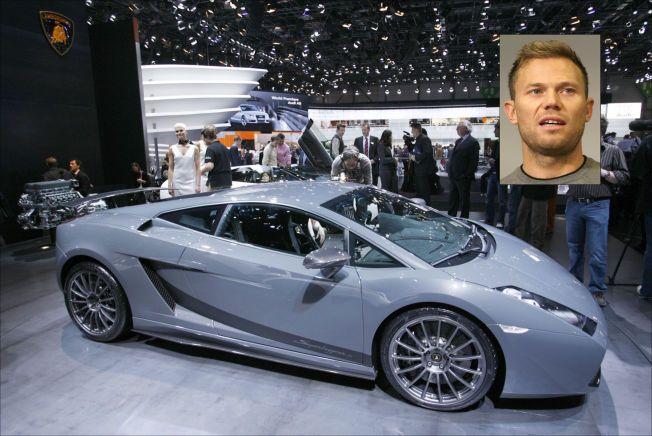 FET BIL: Thor Hushovd kjøpte en sort versjon av denne bilen, en Lamborghini Gallardo Superleggera, etter VM-gullet i 2010. Den står for det meste parkert i kjellergarasjen hans i Monaco.