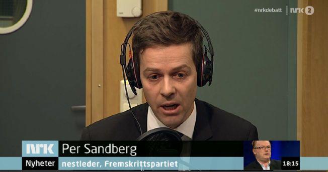 ORDKRIG: Sandberg kritiserer Hareide for å stigmatisere ham som en person som ikke har nærhet til det multikulturelle samfunnet han kritiserer.