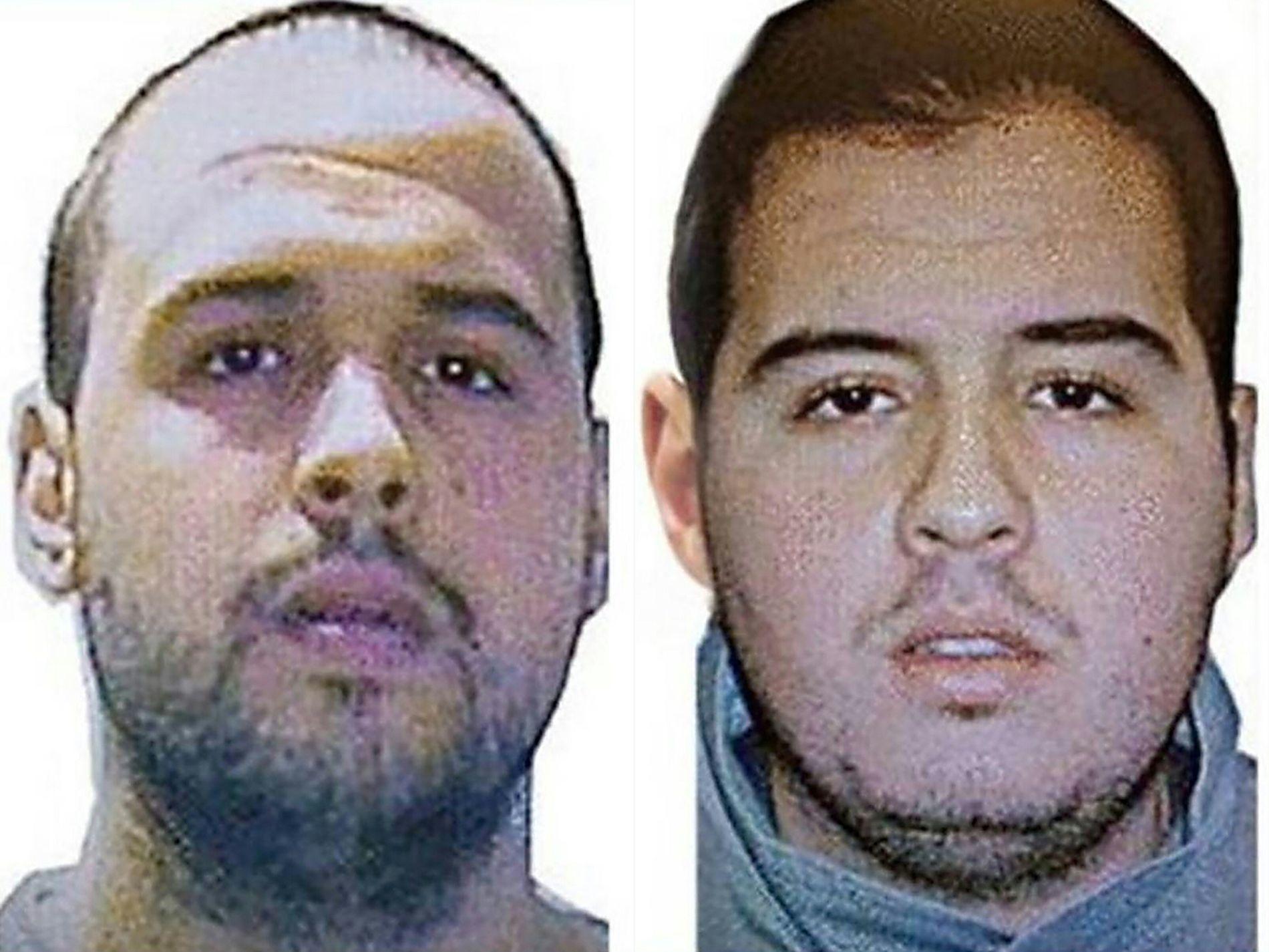 TERRORISTER: Ifølge tyrkiske myndigheter var det Ibrahim El-Bakroui (t.h.) som ble pågrepet i Tyrkia og løslatt i Belgia i sommer, melder Reuters. Han skal ha sprengt seg selv i luften på flyplassen, mens broren Khalid (t.v.) skal ha stått bak angrepet på t-banestasjonen.