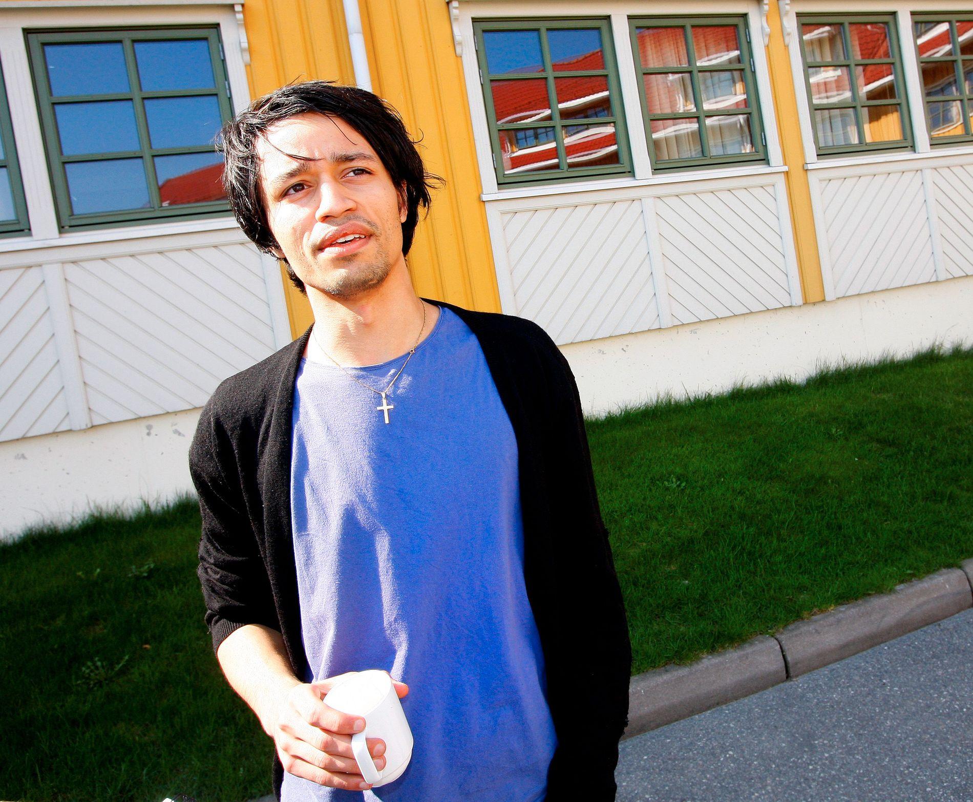ROPSTADS FORLOVER: Rahim Nicolay Ali, her fotografert i forbindelse med et intervju i VG i 2009.