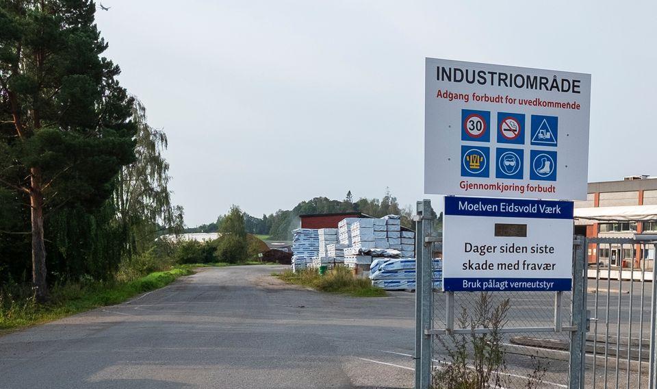 SVAKE RESULTATER: Moelven Eidsvold Værk AS leverte 2018 and overskudd at K26.26 million. Dette var første gang siden 2008 selskapet hadde levert et positivt årsresultat.