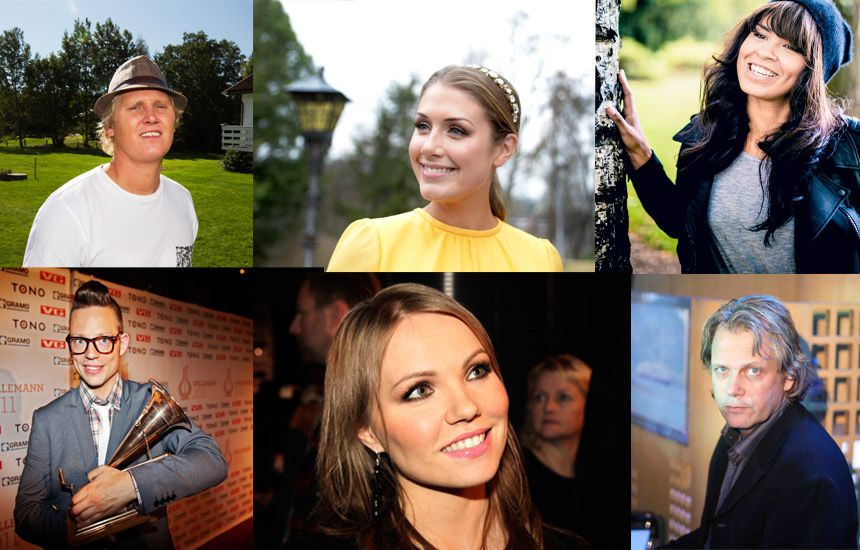 LER HELE VEIEN TIL BANKEN: Samtlige av de norske musikerne har betydelig høyere inntekt i 2012 enn 2011. FOTO: VG, SCANPIX
