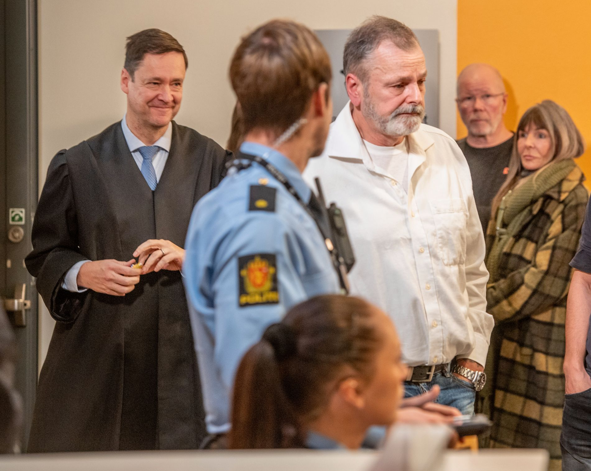 SISTE DAG: Eirik Jensen ankom onsdag Borgarting lagmannsrett for siste gang før han får juryens kjennelse.