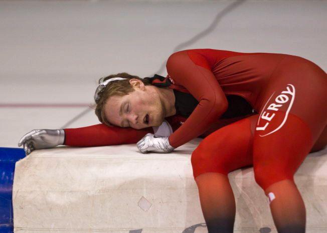 UTSLÅTT: Medaljehåpet Sverre Lunde Pedersen må stå over EM. Her fra Herenveen for et snaut år siden.