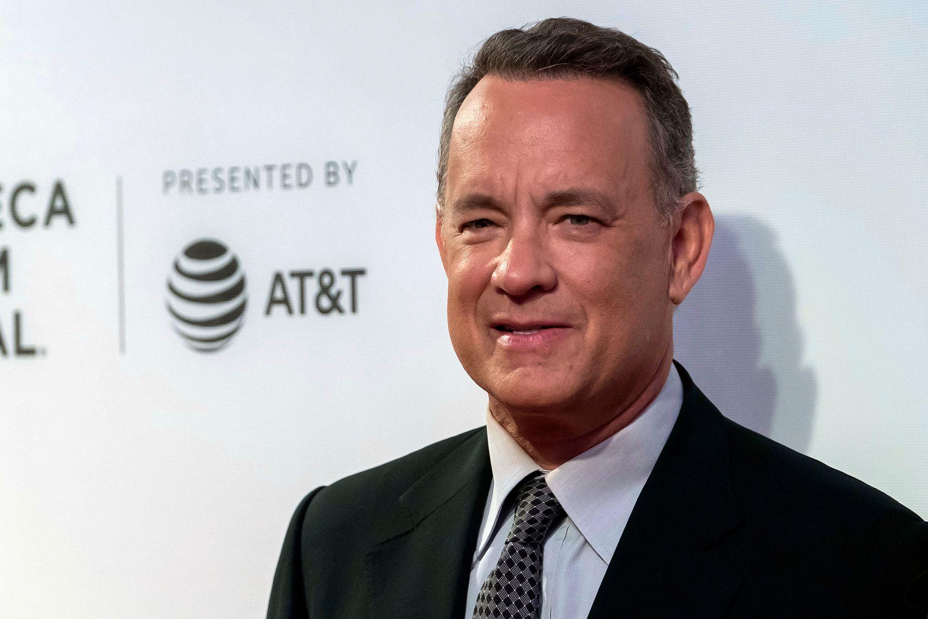 FORLOT FILMINNSPILLINGEN: Tom Hanks var til stede på filmsettet da James Emsviller falt ned fra balkongen