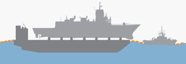 SLEPES TIL KAI: Når flytedokken er ferdig hevet og fregatten sikret, starter transporten til Haakonsvern orlogsstasjon, som tar ca. fem timer.