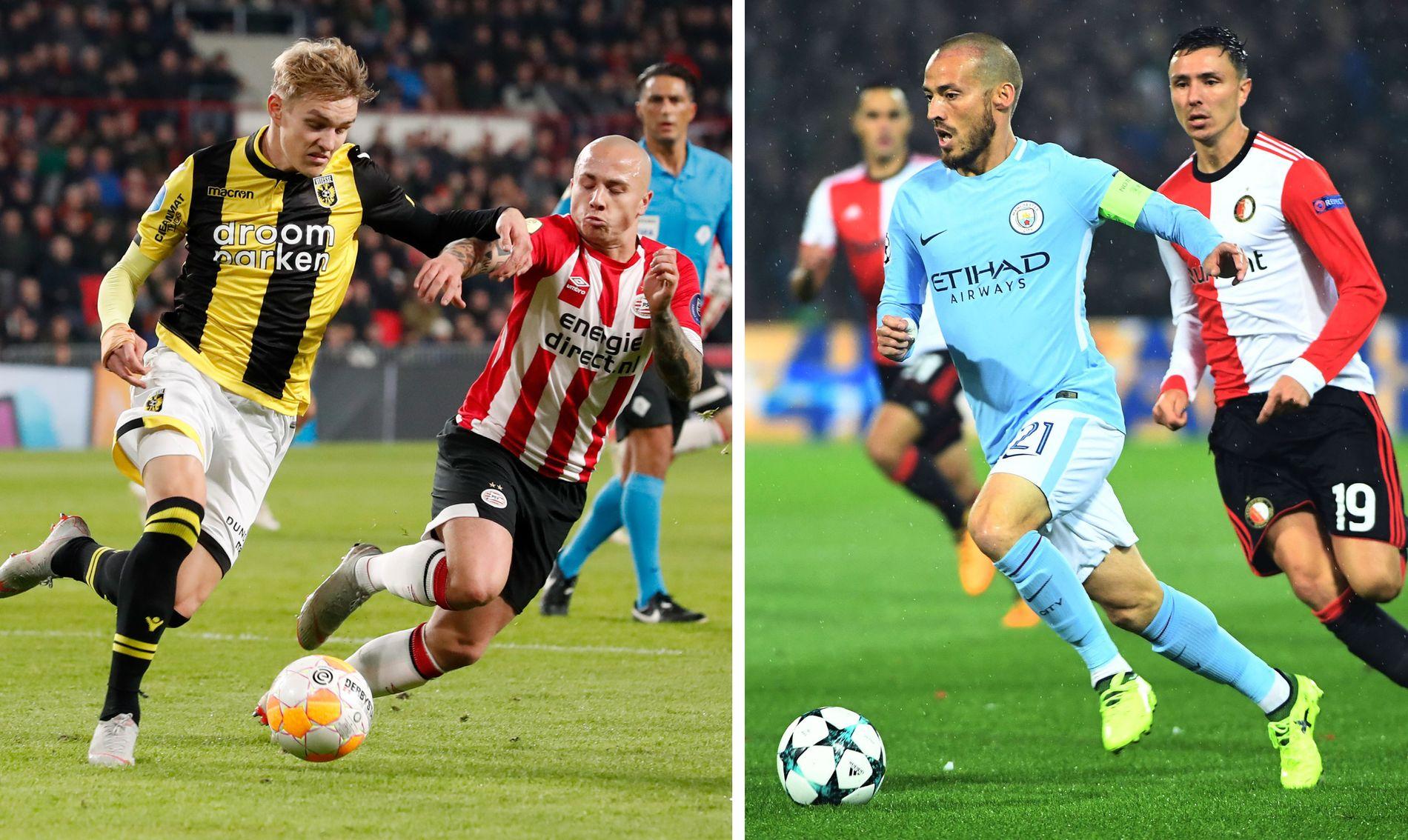 SÅ LIKHETER: Manchester Citys ledelse så mange likheter mellom Martin Ødegaard og David Silva.