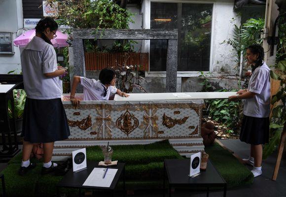 Bangkoks mest spesielle kafé