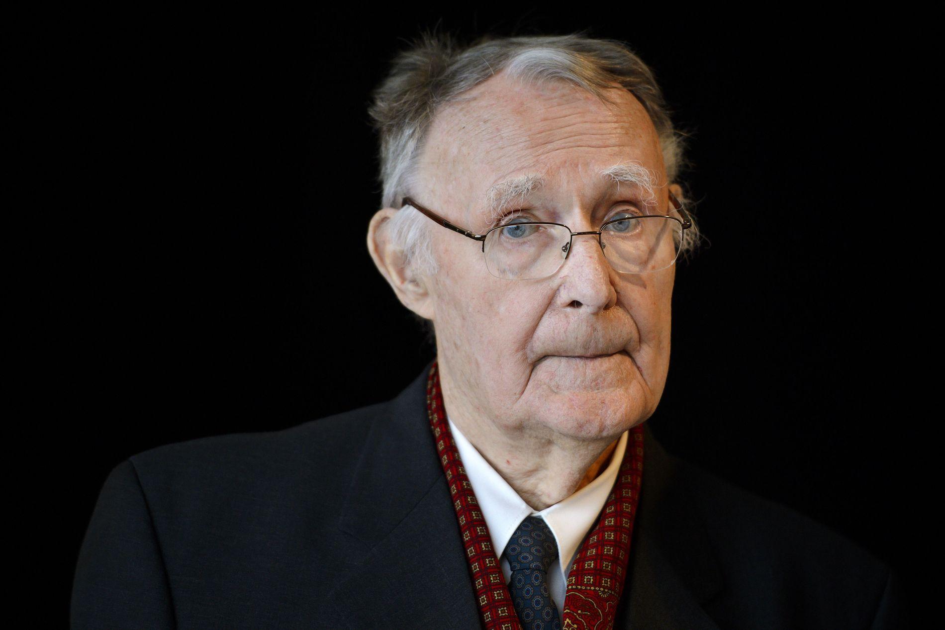 DØD: Ingvar Kamprad (91) døde i januar i år.