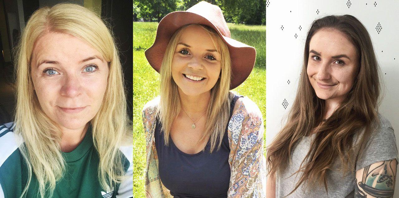 NYE MULIGHETER: Disse tre damene kan etter utdanning hos Treider begynne i nye jobber som interiørdesigner, reiselivskoordinator og regnskapskonsulent.