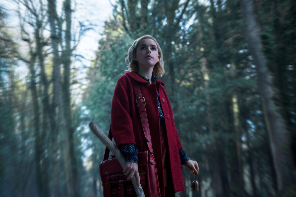 HOVEDROLLEN: Kiernan Shipka i rollen som nye Sabrina.