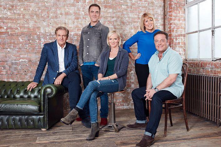 PÅ'N IGJEN: F.v: David Marsden (Robert Bathurst),  Adam Williams (James Nesbitt), Karen Marsden (Hermione Norris), Jenny Gifford (Fay Ripley) og Pete Gifford (John Thomson).