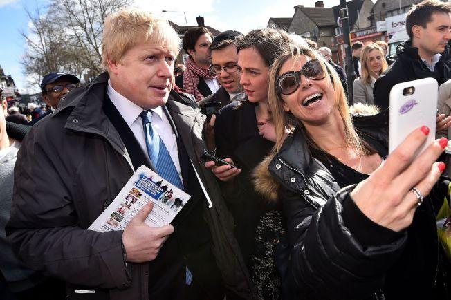 POPULÆR: London-borgermester Boris Johnson er en velgerfavoritt.
